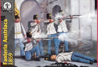 AP017 - Austrian Infantry 1859 1/72