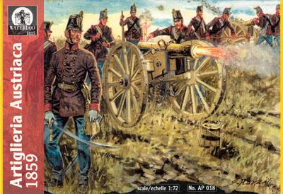 AP018 - Austrian Artillery 1859 1/72