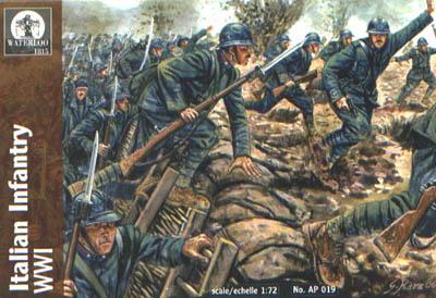 AP019 - WW1 Italian Infantry 1/72