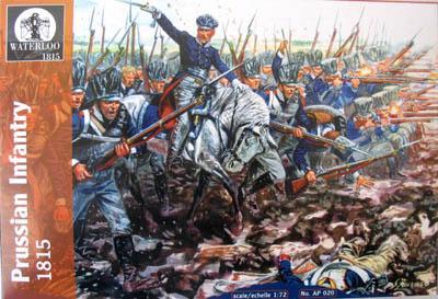 AP020 - Prussian Infantry 1815 1/72