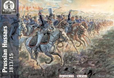 AP021 - Prussian Hussars 1813/15 1/72