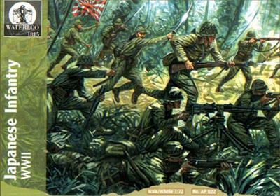 AP022 - WW2 Japanese Infantry 1/72