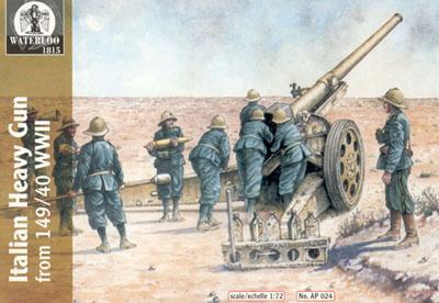 AP024 - WW2 Italian 149/40 Artillery 1/72