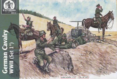 AP025 - WWII German Cavalry (Set 1) 1/72