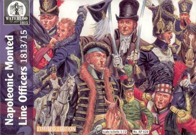 AP028 - Napoleonic Mounted Line Officers 1/72