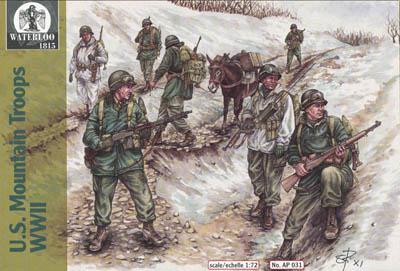 AP031 - WWII US Mountain Troops 1/72
