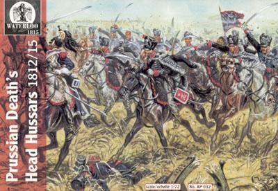 AP032 - Napoleonic Prussian Death's Head Hussars 1/72