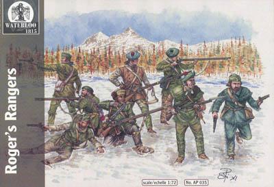 AP035 - WW2 Roger's Rangers 1/72