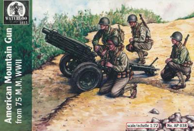 AP038 - American 75mm Mountain Gun 1/72