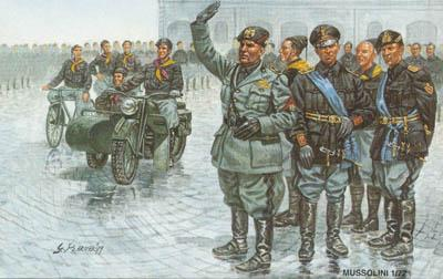 AP060 - Mussolini (The march of Rome) 1/72