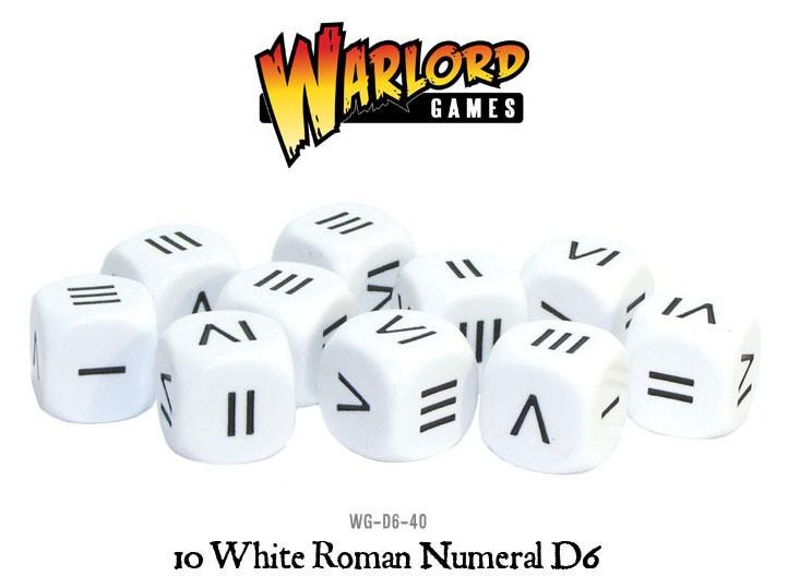 Wg d6 40 roman numeral dice b