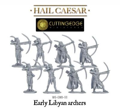 Egyptian Libyan Archers