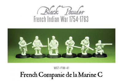 French Indian War - French Marines (6)