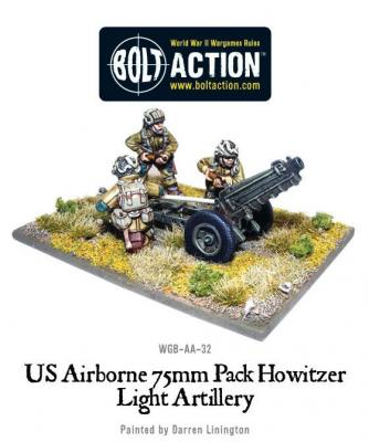 US Airborne 57mm ATG & Crew
