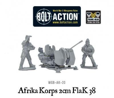 Africka Korps 2cm Flak 38