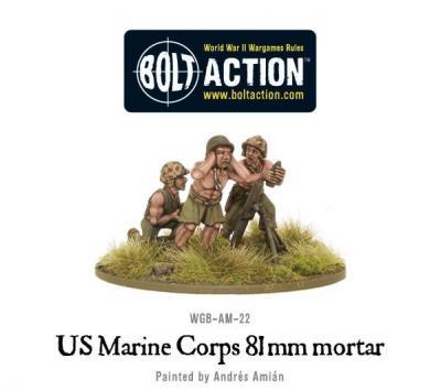 USMC 81mm mortar