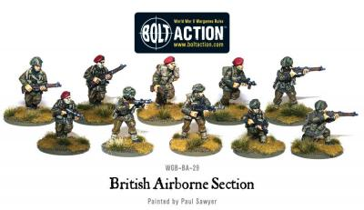 British Airborne section