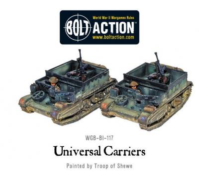 British Universal Carriers (2)