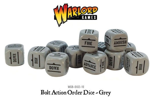 Wgb dice 10 dice grey new a grande
