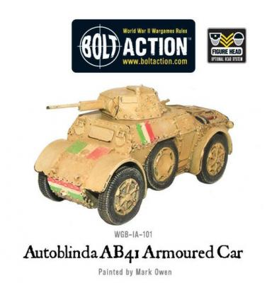 Autoblinda AB41 armoured car