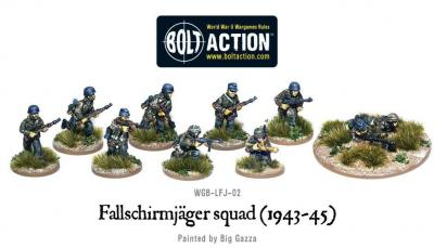 Fallschirmjager Squad (1943-45)