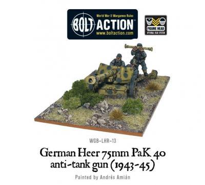 German Heer PaK 40