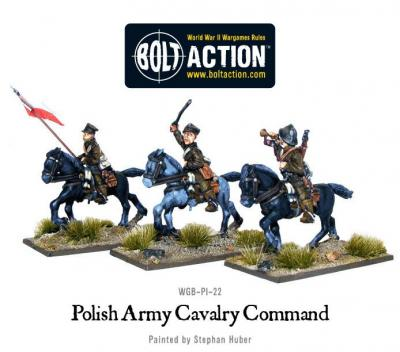 Polish Army cavalry command