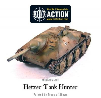 German Hetzer Tank Destroyer