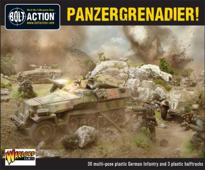 Panzergrenadier Platoon (3x Halfracks & 30 Infantry)