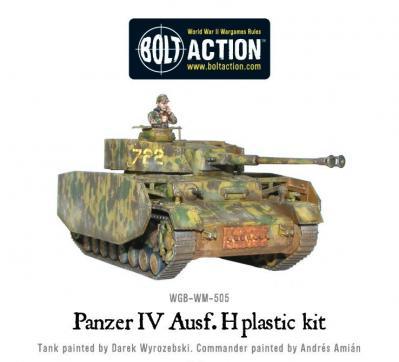 Panzer IV AUF H mit Schurzen