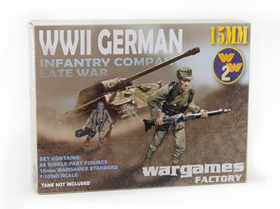 WGF-1505 - WWII German Infantry Late War 15mm