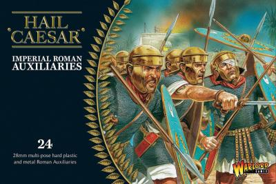 Imperial Roman Auxiliaries (20 plastics + 4 metal command)