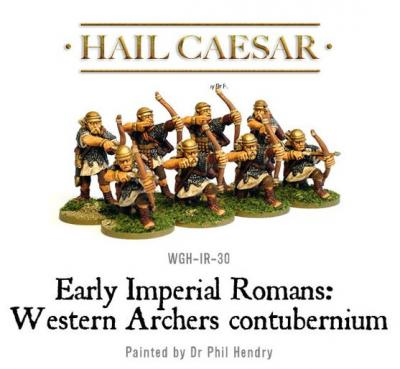 Imperial Roman Western Auxiliary Archers (8)