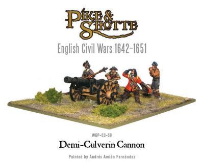 Demi Culverin Cannon + Crew