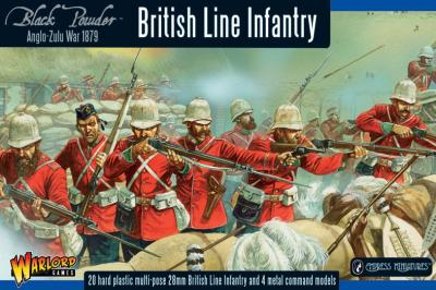 Anglo-Zulu War British Infantry