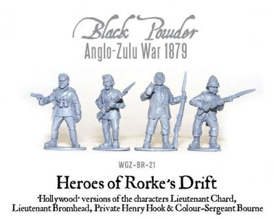 Heroes of Rorke's Drift (4 'Hollywood' Characters)