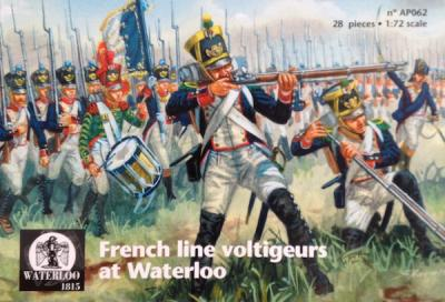 AP062 French Line Voltigeurs at Waterloo 1/72