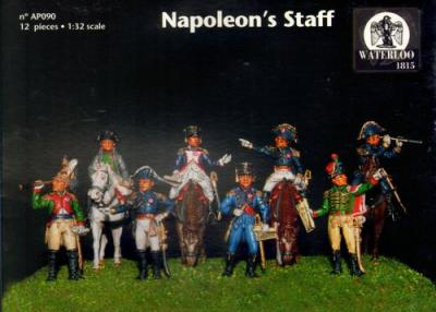 090 - French Napoleon's Staff