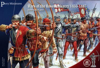 WR1 - War Of The Roses Infantry 1455-1487 28mm