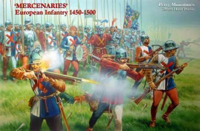 WR2 - Mercenaries' European Infantry 1450-1500 28mm
