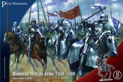 WR40 - Mounted Men at Arms 1450-1500 28mm