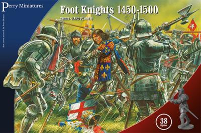 WR50 - Foot Knights 1450-1500 28mm