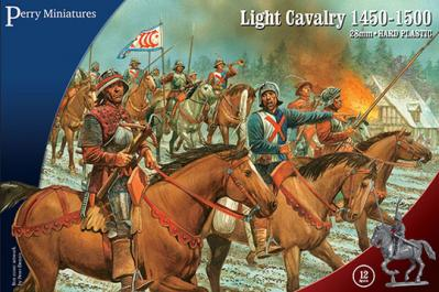 WR60 - Medieval Light Cavalry 28mm