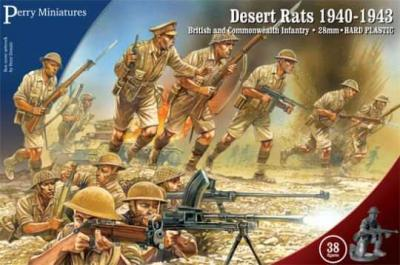WW1 - Desert Rats 1940-1943 28mm