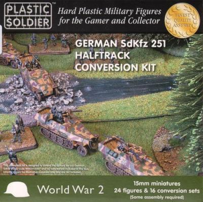 WW2V15013 - German Sd.Kfz.251/D Conversion Kit15mm