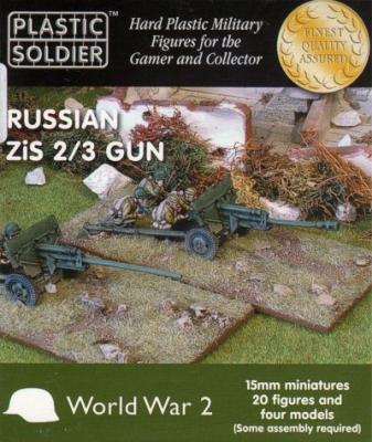 WW2G15002 - Russian Zis-2 and Zis-3 anti tank/field gun 15mm