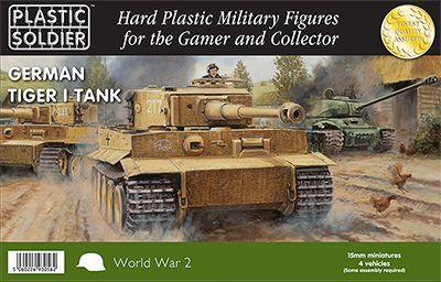 WW2V15017 - Pz.Kpfv.VI Tiger I 15mm