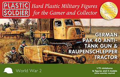 WW2G20005 - Pak 40 and Raupenschlepper tractor 1/72