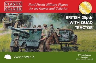 WW2G20006 - British 25pdr with Morris Quad Tractor 1/72