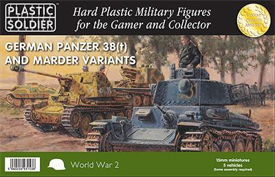 WW2V15025 - Pz. 38T & Marder 15mm